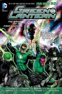 Green Lantern: Wrath of the First Lantern Volume 1 HC (The New 52), Hardback Book