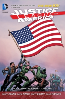Justice League of America Volume 1: World's Most Dangerous TP (The New 52), Paperback Book