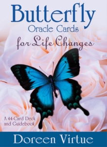 Butterfly Oracle Cards for Life Changes : A 44-Card Deck and Guidebook, Cards Book