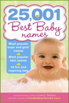 25,001 Best Baby Names, Paperback Book