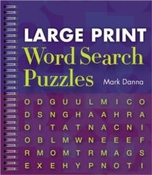 Large Print Word Search Puzzles, Spiral bound Book