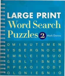 Large Print Word Search Puzzles 2, Spiral bound Book