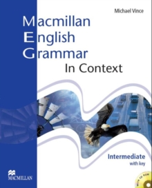 Macmillan English Grammar In Context Intermediate Student's Book with Answer Key & CD-ROM, Mixed media product Book