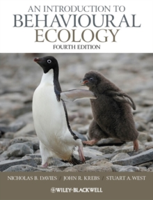 An Introduction to Behavioural Ecology 4E, Paperback Book