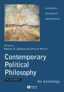 Contemporary Political Philosophy - an            Anthology 2E, Paperback Book
