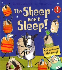 The Sheep Won't Sleep, Paperback Book