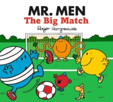 Mr. Men The Big Match, Paperback Book