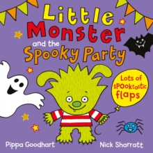 Little Monster and the Spooky Party, Novelty book Book