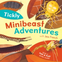 Tickly Minibeast Adventures, Hardback Book