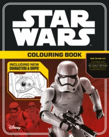 Star Wars The Force Awakens: Colouring Book, Paperback Book