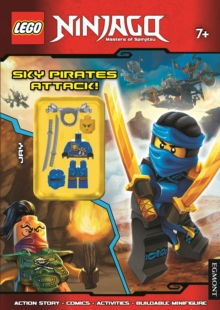 LEGO (R) Ninjago: Sky Pirates Attack! (Activity Book with Minifigure), Paperback Book
