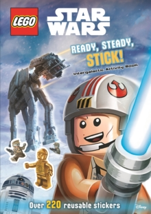 LEGO (R) Star Wars: Ready, Steady, Stick! Intergalactic Activity Book, Paperback Book