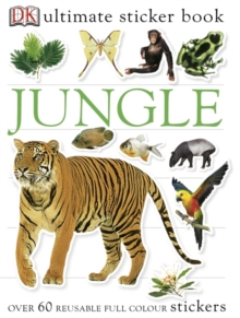Jungle Ultimate Sticker Book, Paperback Book