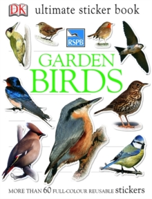 RSPB Garden Birds Ultimate Sticker Book, Paperback Book