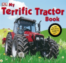 My Terrific Tractor Book!, Hardback Book