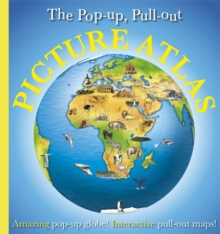 Pop-Up, Pull-Out, Picture Atlas, Hardback Book