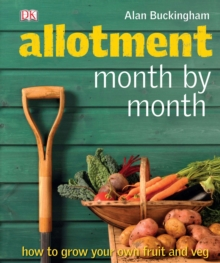 Allotment Month by Month, Hardback Book