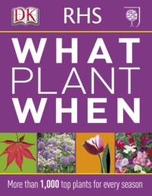RHS What Plant When, Paperback Book