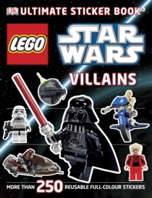 LEGO (R) Star Wars Villains Ultimate Sticker Book, Paperback Book