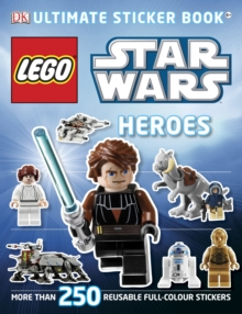 LEGO Star Wars Heroes Ultimate Sticker Book, Paperback Book