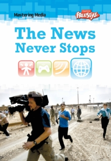 The News Never Stops, Hardback Book