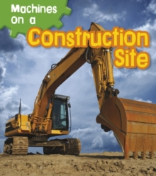 Machines on a Construction Site, Paperback Book