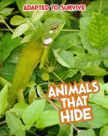 Adapted to Survive: Animals that Hide, Hardback Book