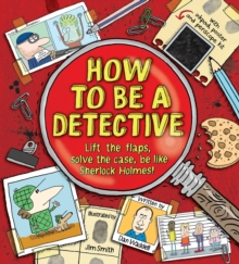 How To Be a Detective, Hardback Book