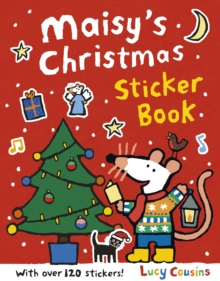 Maisy's Christmas Sticker Book, Paperback Book