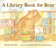 A Library Book for Bear, Paperback Book