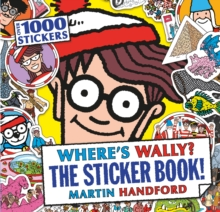 Where's Wally? The Sticker Book!, Paperback Book