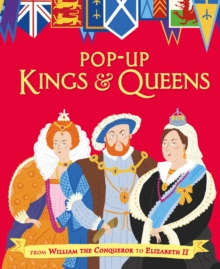 Pop-Up Kings and Queens, Hardback Book