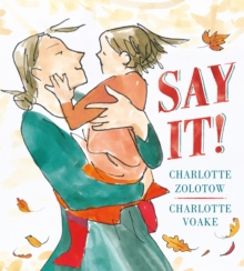 Say It!, Paperback Book