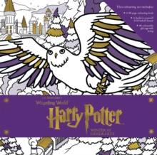 Harry Potter: Winter at Hogwarts: A Magical Colouring Set, Hardback Book