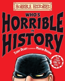 Who's Horrible in History, Hardback Book