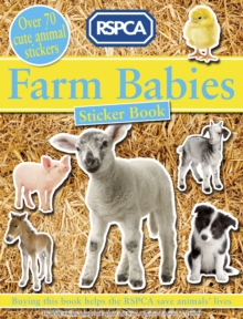 Farm Babies Sticker Book, Paperback Book