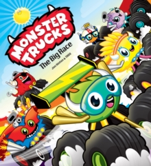 Monster Trucks: The Big Race, Paperback Book
