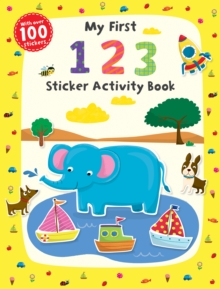 My First 1 2 3 Sticker Activity Book, Paperback Book