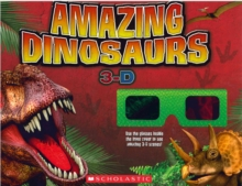 Amazing Dinosaurs 3-D, Mixed media product Book