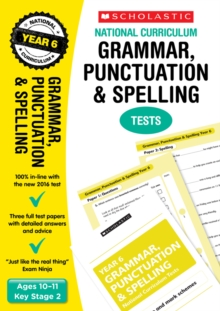 Grammar, Punctuation and Spelling Test - Year 6 : Year 6, Paperback Book