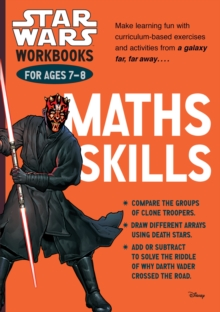 Star Wars Workbooks: Maths Skills - Ages 7-8 : Ages 7-8, Paperback Book
