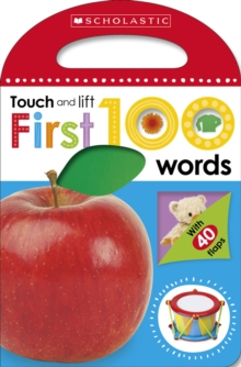 First 100 Touch and Lift: First Words, Board book Book