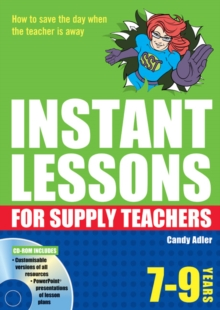 Instant Lessons for Supply Teachers 7-9, Mixed media product Book