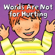 Words are Not for Hurting, Hardback Book