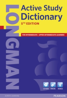 Longman Active Study Dictionary, Mixed media product Book