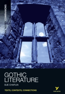 York Notes Companions Gothic Literature, Paperback Book