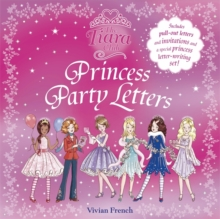 Princess Party Letters, Paperback Book