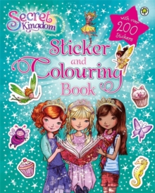 Sticker and Colouring Book, Paperback Book