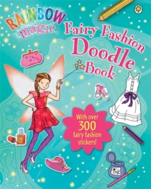 Fairy Fashion Doodle Book, Paperback Book