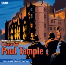 A Case for Paul Temple, CD-Audio Book